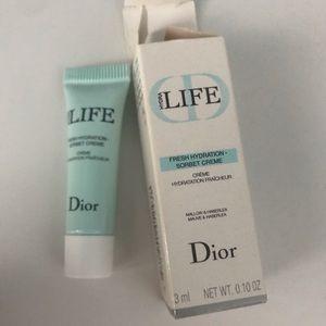 NWT Dior Hydra Life Fresh Hydration Sorbet Cream